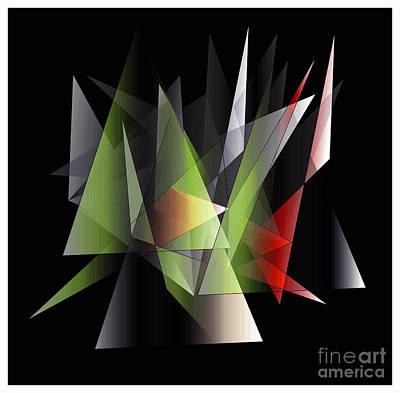 Digital Art - Modern 2 by Iris Gelbart