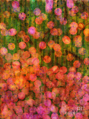Chakra Rainbow Painting - Modern Abstract Color Art Flower Garden by Jani Bryson