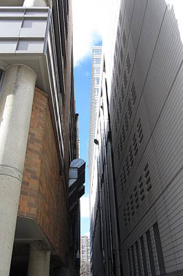 Photograph - Modern Architecture Angles 1 by Anita Burgermeister