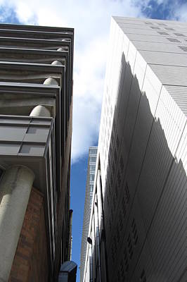 Photograph - Modern Architecture Angles 2 by Anita Burgermeister