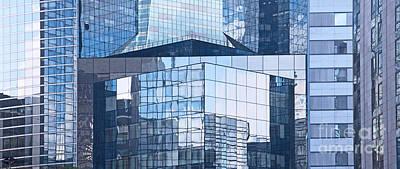 Photograph - Modern Architecture Detail by Liz Leyden