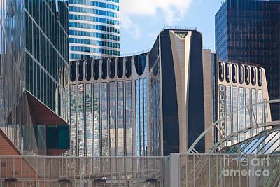 Photograph - Modern Architecture La Defense Paris by Liz Leyden