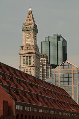 Photograph - Modern Boston by Paul Mangold