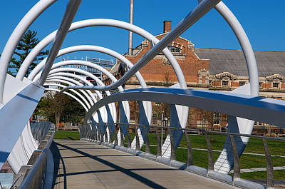 Modern Bridge  Art Print