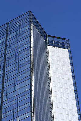 Modern Building In Blue Sky Original by Tommytechno Sweden