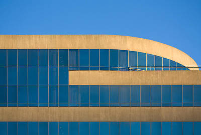 Photograph - Modern Building In Pack Square by Melinda Fawver