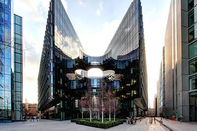 Modern Building Art Print by Ollie Taylor