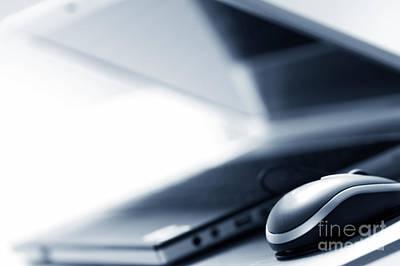 Hardware Photograph - Modern Business Equipment by Michal Bednarek
