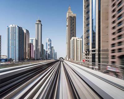 Photograph - Modern Dubai by Yongyuan Dai