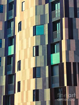 Photograph - Modern Facade by Silvia Ganora