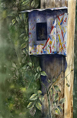 Painting - Modern Feathered Friends by Mary McCullah