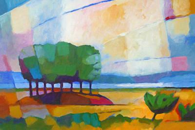 Painting - Modern Landscape by Lutz Baar