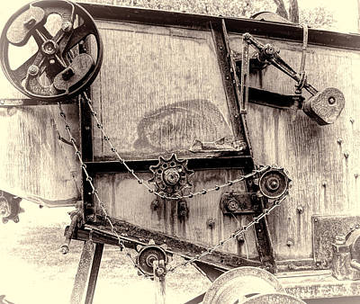 Photograph - Modern Machinery by HW Kateley