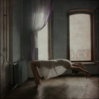 Floating Girl Photograph - Modern Margarita 2  by Anka Zhuravleva