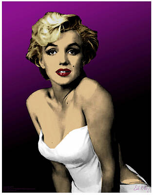 Digital Art - Modern Marilyn by Dale Loos Jr