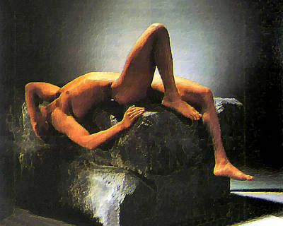 Prometheus Painting - Modern Prometheus   by Troy Caperton
