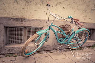 Velo Photograph - modern retro III by Hannes Cmarits