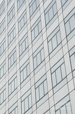 Photograph - Modern Skyscraper Architecture Pattern Detail by Jacek Malipan
