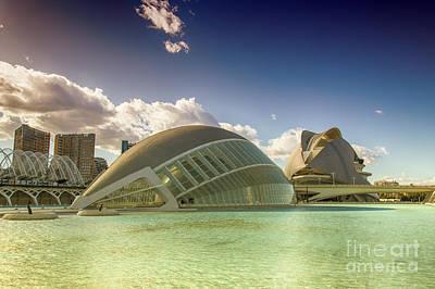 Photograph - Modern Spain by Fabian Roessler