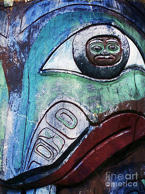 Painting - Modern Totem Frog by Sue Harper