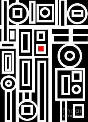 Modern Vibe 7 Art Print