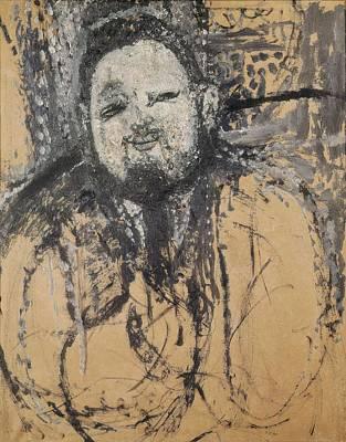 Modigliani, Amedeo 1884-1920. Diego Art Print by Everett