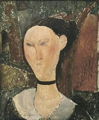 Modigliani, Amedeo 1884-1920. Woman Art Print by Everett