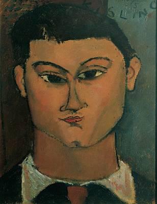 Modigliani Amedeo, Portrait Art Print by Everett