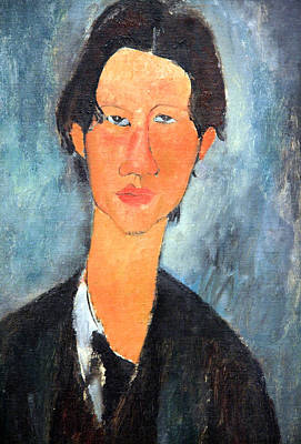 Amadeo Modigliani Photograph - Modigliani's Chaim Soutine Up Close by Cora Wandel