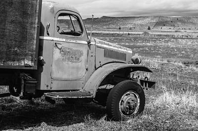 Photograph - Modoc County Fire Truck 2 by Sherri Meyer