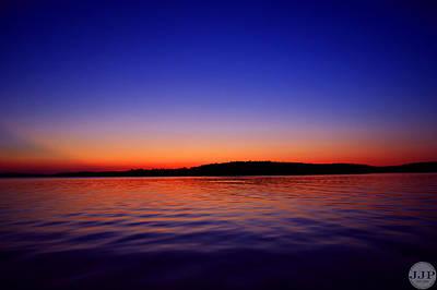 Clarks Hill Lake Photograph - Modoc Sunset by Joseph Johns