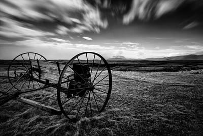 Farm Equipment Photograph - Modrudalur by Dave Bowman