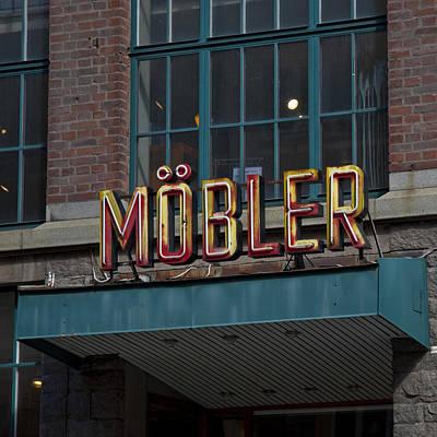 Photograph - Moebler by John Magnet Bell