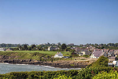 Photograph - Moelfre Coastal Village by Georgia Fowler