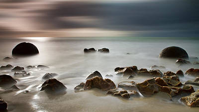 Photograph - Moeraki One by Brad Grove