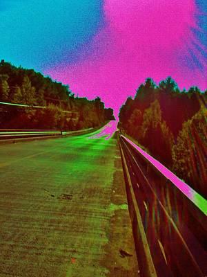 Moffit Bridge And Maple Ridge Rd. Art Print by Daniel Thompson