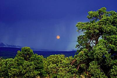 Photograph - Mogollon Moon by Broderick Delaney