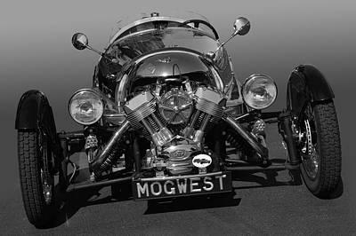 Photograph - Mogwest Bw by Bill Dutting