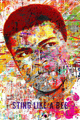 Painting - Mohammad Ali by Gary Grayson