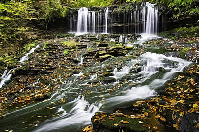 Photograph - Mohawk Falls 1 by Paul Riedinger