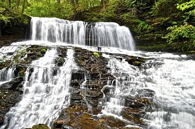 Mohawk Falls Art Print by Frozen in Time Fine Art Photography