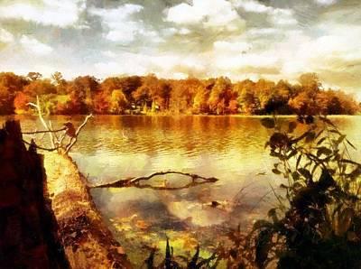 Digital Art - Mohegan Lake 1 by Derek Gedney