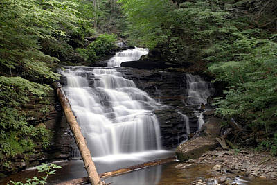 Photograph - Mohican Falls In Summer Splendor by Gene Walls