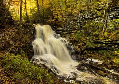 Waterfall Photograph - Mohican Falls by J Allen