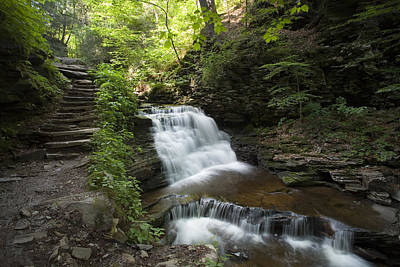 Photograph - Mohican's Upper Tier by Gene Walls