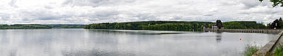 Photograph - Mohnesee Very Wide Panorama by Gary Eason