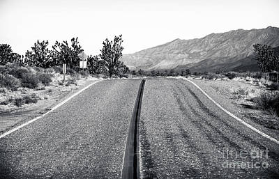 Photograph - Mojave Driving by John Rizzuto