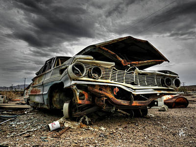 Photograph - Mojave Hdr 012 by Lance Vaughn