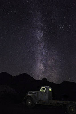 Art Print featuring the photograph Mojave Milky Way by James Sage