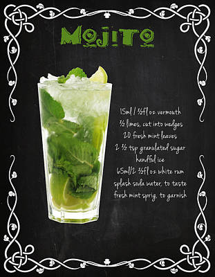 Photograph - Mojito by Mark Rogan
